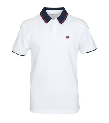 Levi's Polo Uni Wit  online bestellen | Suitable
