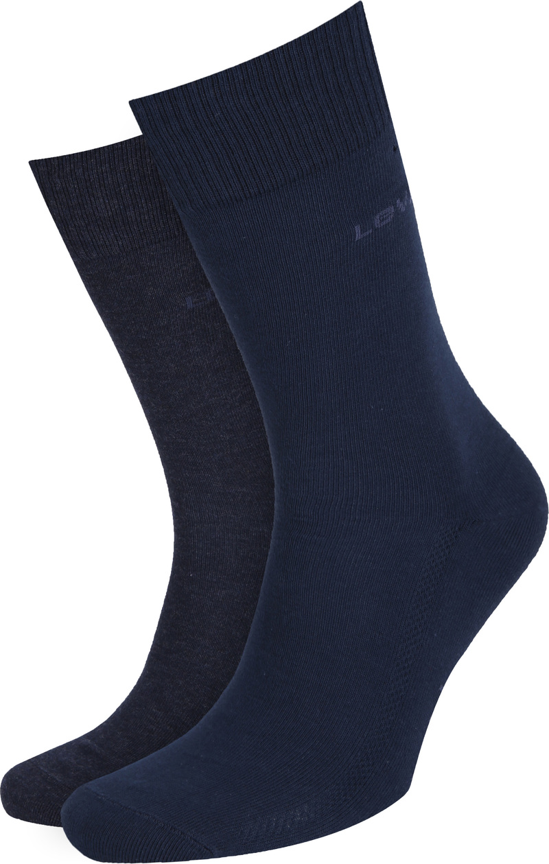 Levi's Socks Cotton 2-Pack Navy 321