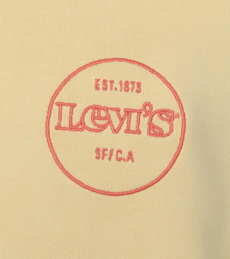 Levi's Sweater Graphic Logo Geel