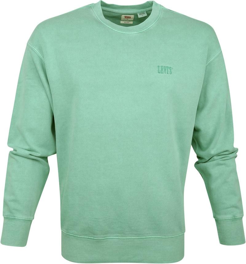 Levi's Sweater Groen foto 0