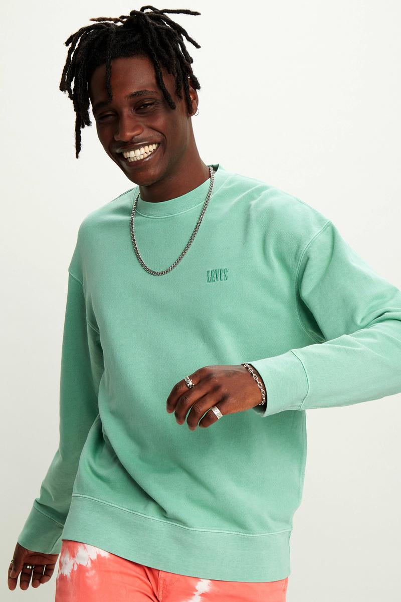 Levi's Sweater Groen foto 4