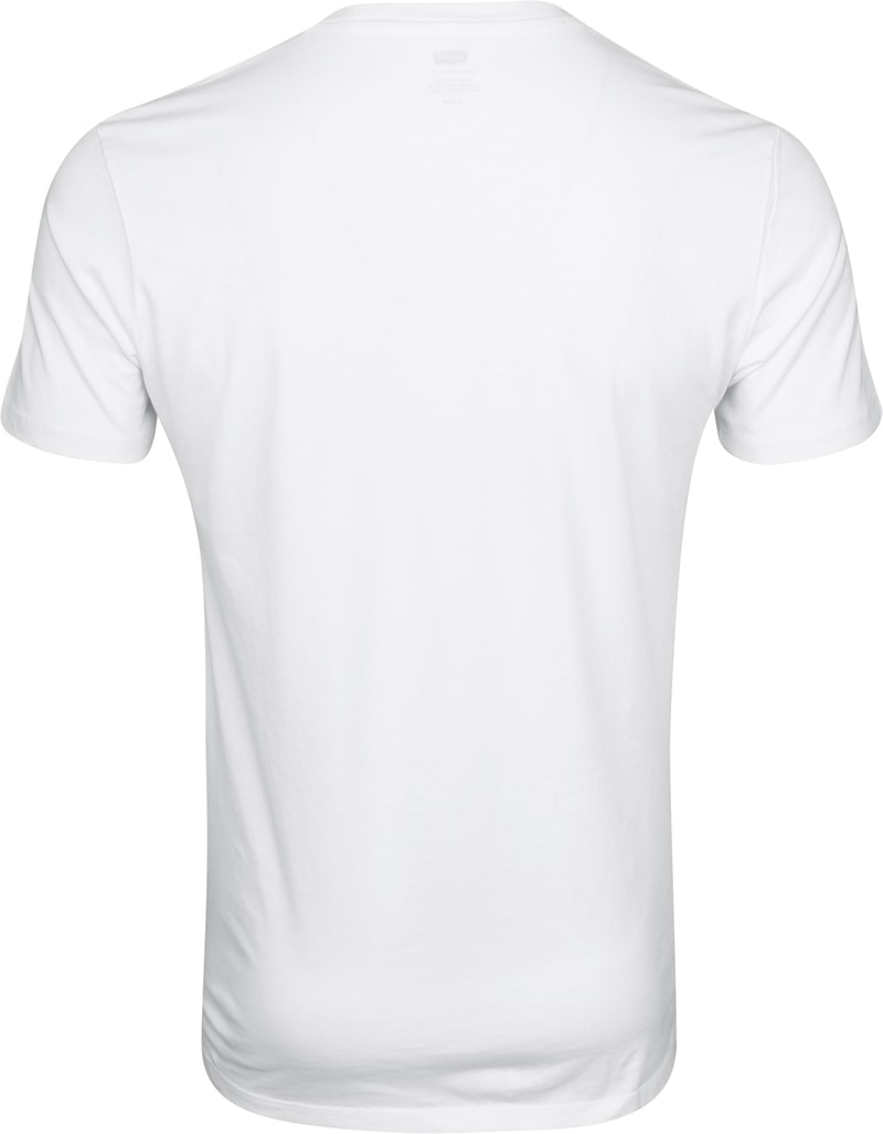 Levi's T-shirt Classic Logo White photo 2