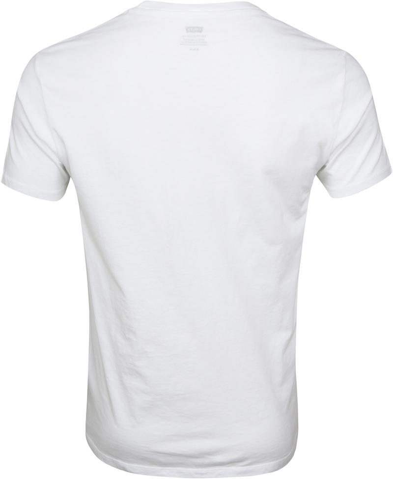 Levi's T-shirt Graphic Weiß Foto 2