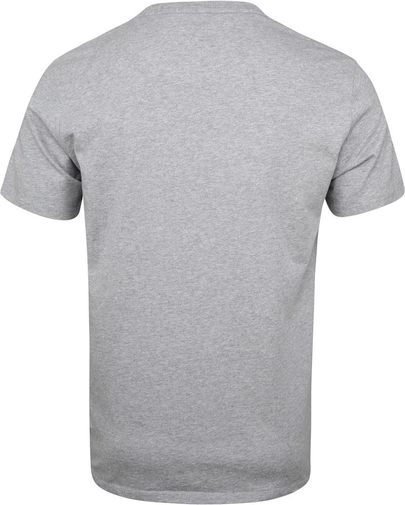 Levi's T-Shirt mit Logo Grau