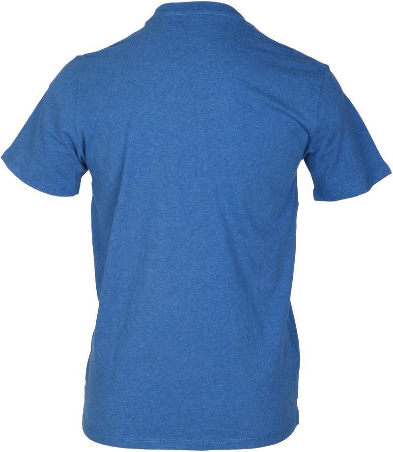 Detail Levi\'s T-shirt Print Blauw