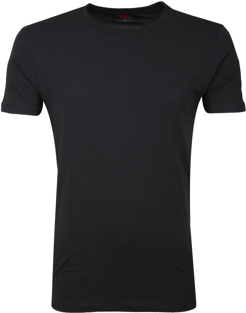 Levi's T-shirt Round Neck Black 2-Pack