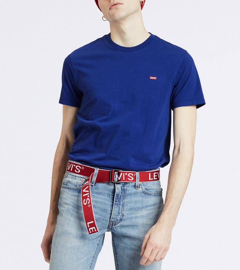 Levi's T-shirt Small Logo Blue photo 3