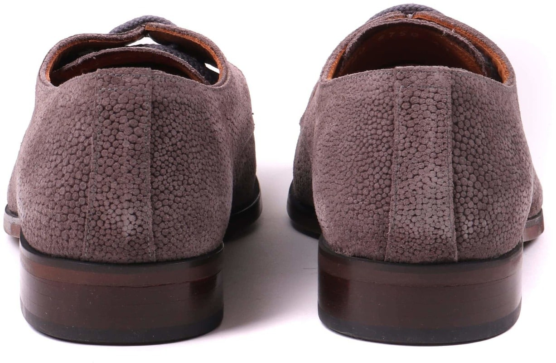 Luxus Herren Schuhe Suede Rog Taupe