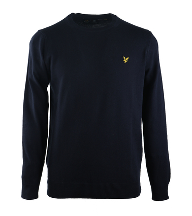 Lyle & Scott Pullover O-Neck Donkerblauw  online bestellen | Suitable