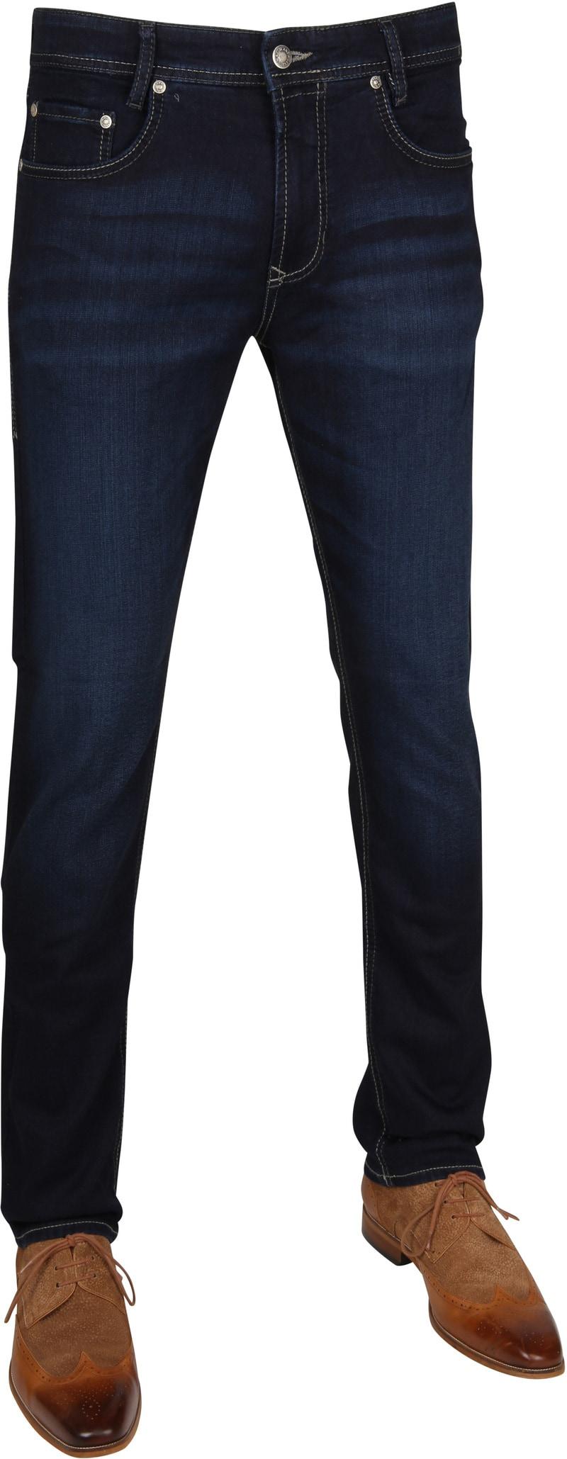 Mac Jog'n Jeans - Donkerblauw maat W 30 - L 32