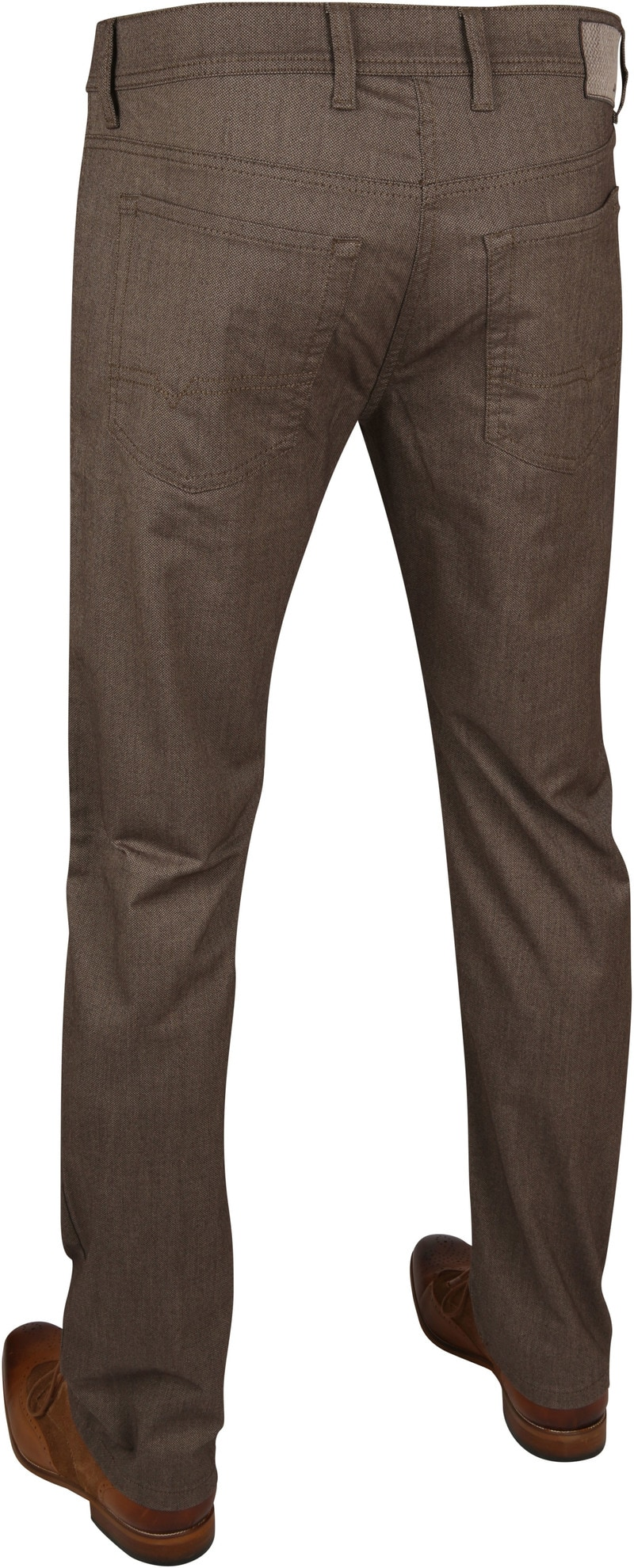 Mac Trousers Arne Pipe Terra Brown photo 2