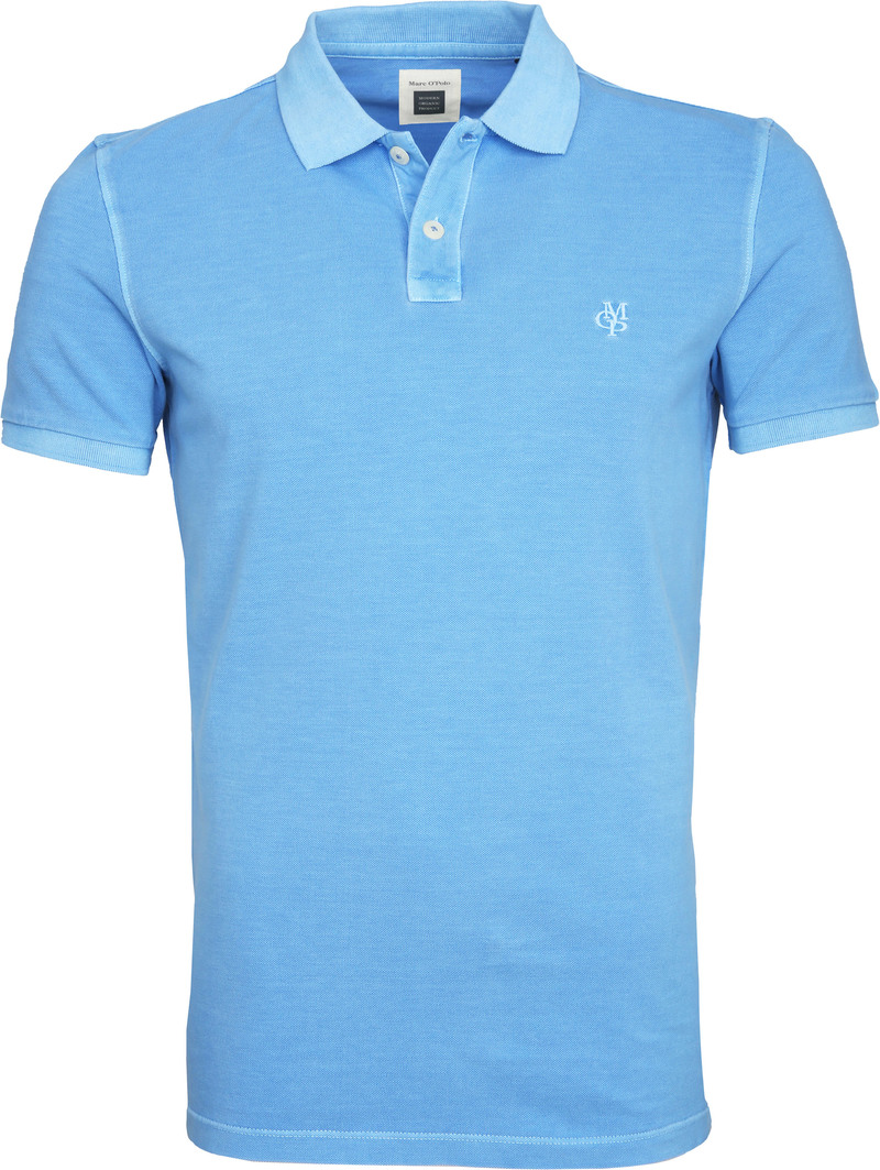 Marc O'Polo Blue Poloshirt photo 0