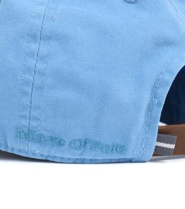 Detail Marc O\'Polo Cap Logo Blauw