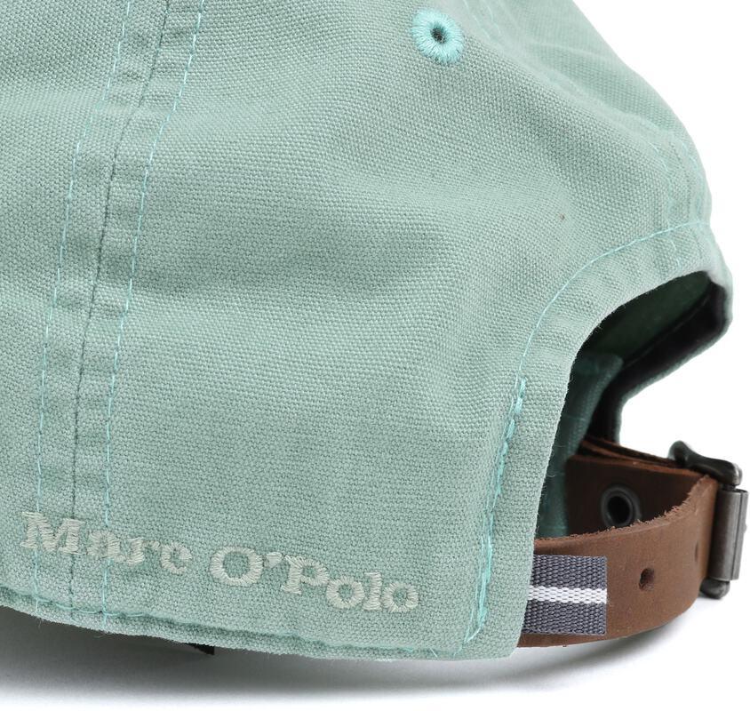 Detail Marc O\'Polo Cap Logo Groen