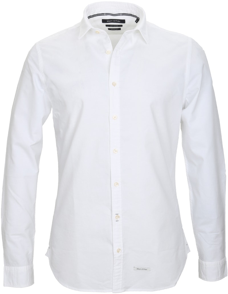 Marc O'Polo Hemd Weiss  online kaufen | Suitable