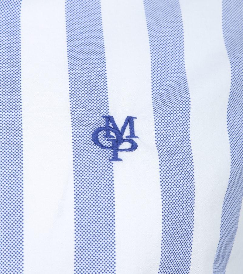 Marc O'Polo Overhemd Blauw Strepen foto 2