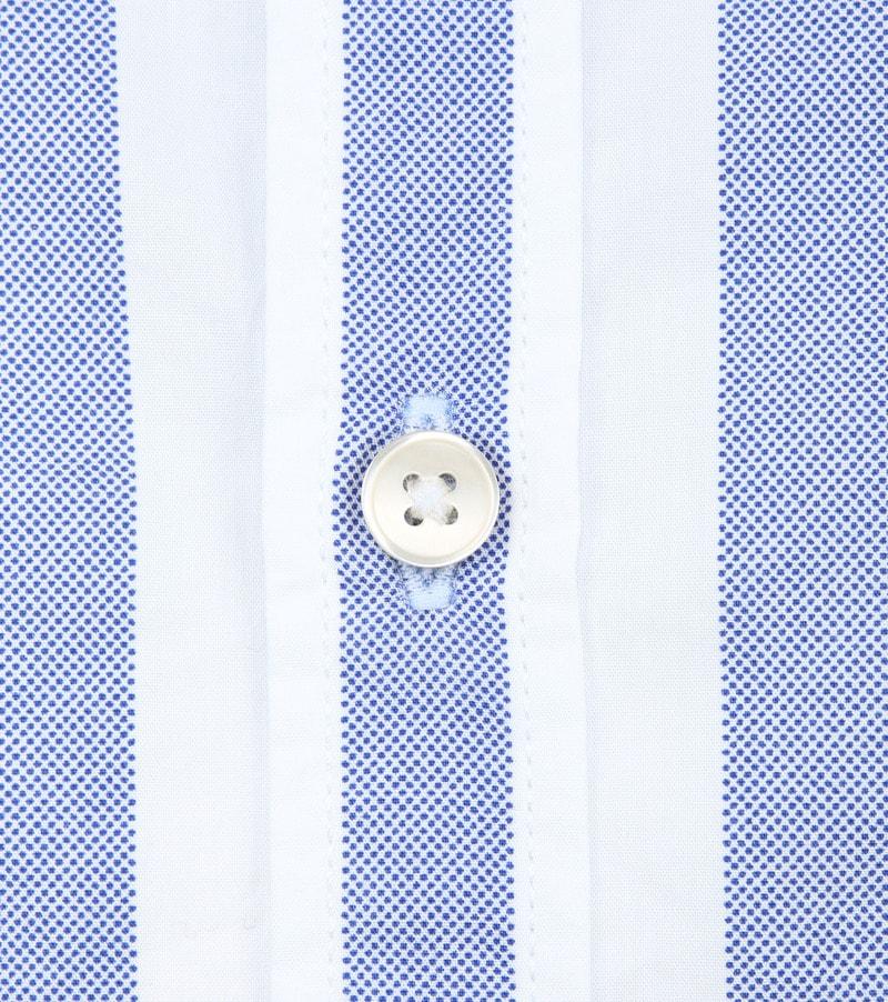 Marc O'Polo Overhemd Blauw Strepen foto 3
