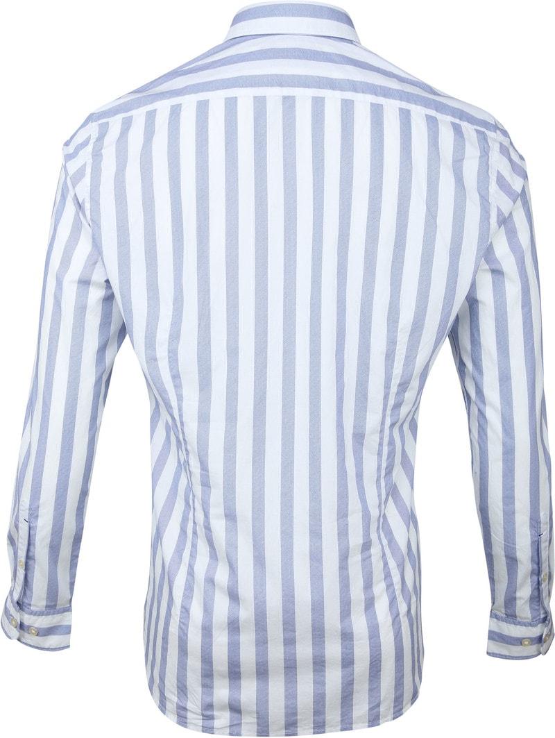 Marc O'Polo Overhemd Blauw Strepen foto 4