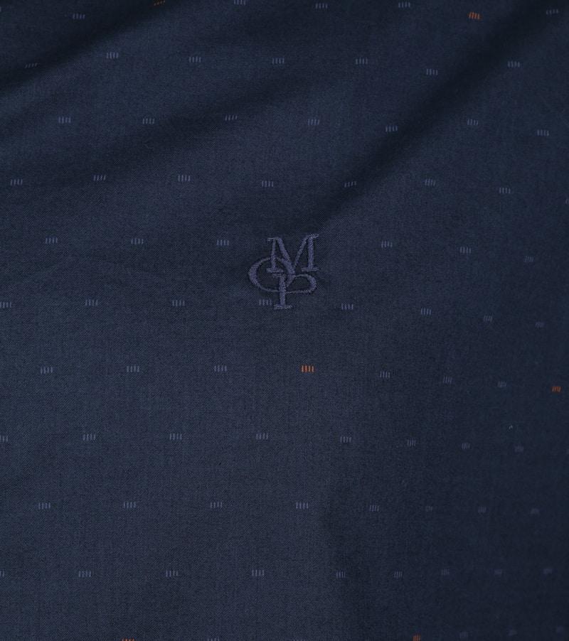 Marc O'Polo Overhemd Donkerblauw foto 2
