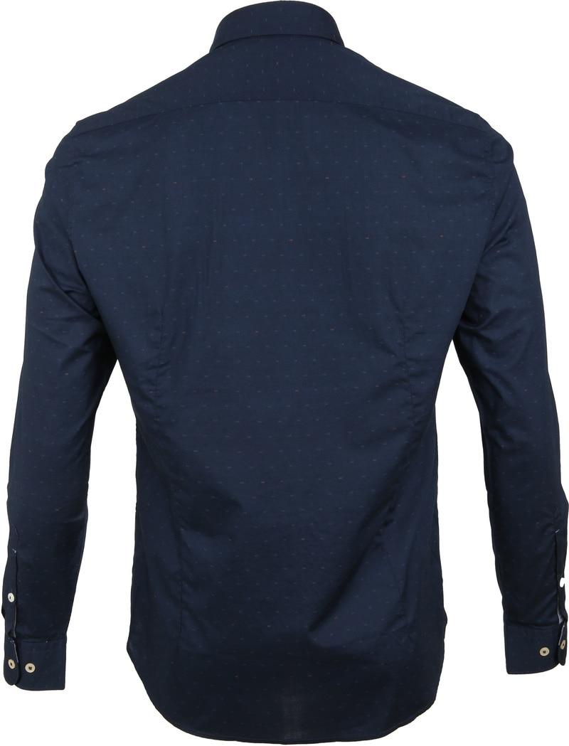 Marc O'Polo Overhemd Donkerblauw foto 3
