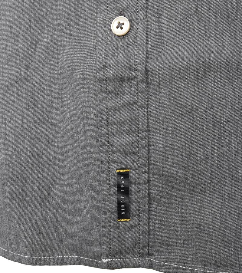 Detail Marc O\'Polo Overhemd Grijs
