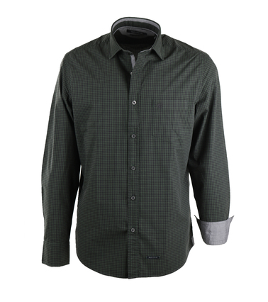 Marc O'Polo Overhemd Groene Ruitjes  online bestellen | Suitable