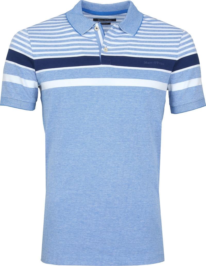 Marc O'Polo Polo Strepen Blauw