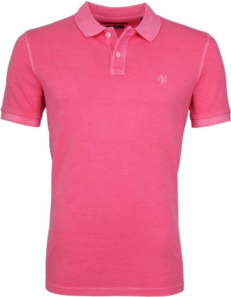 Marc O'Polo Poloshirt Garment Dyed Ibis Pink photo 0