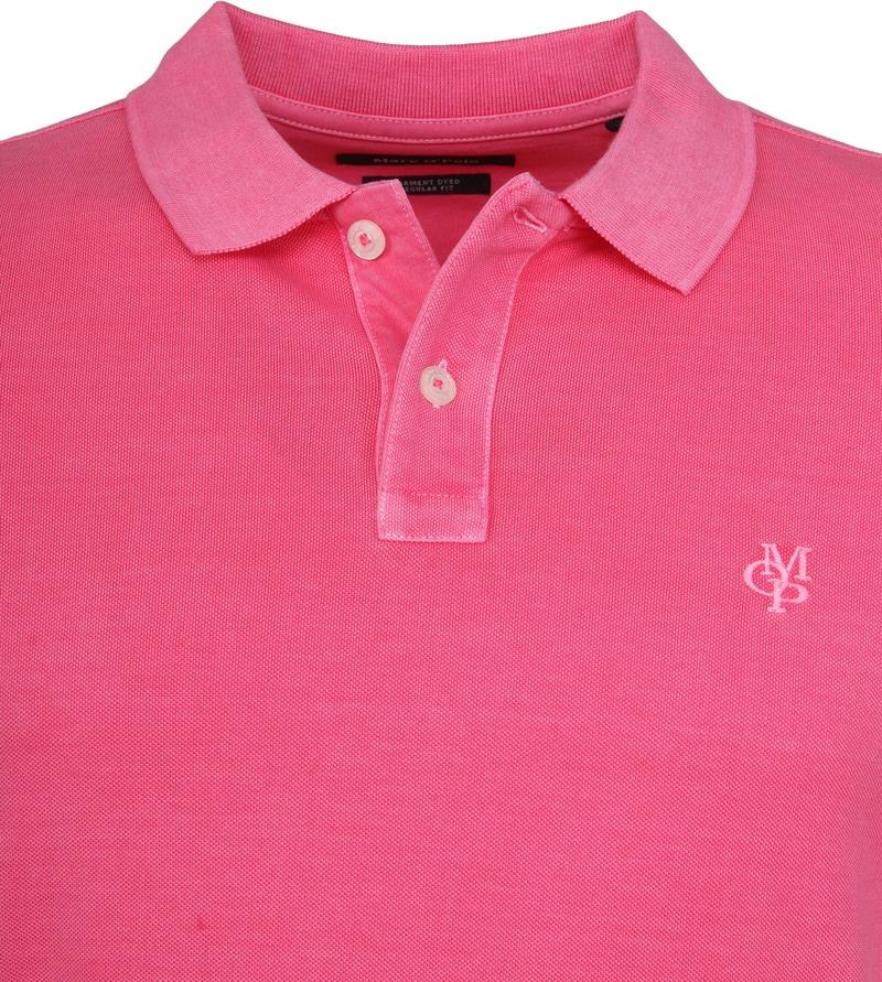 Marc O'Polo Poloshirt Garment Dyed Ibis Pink photo 1