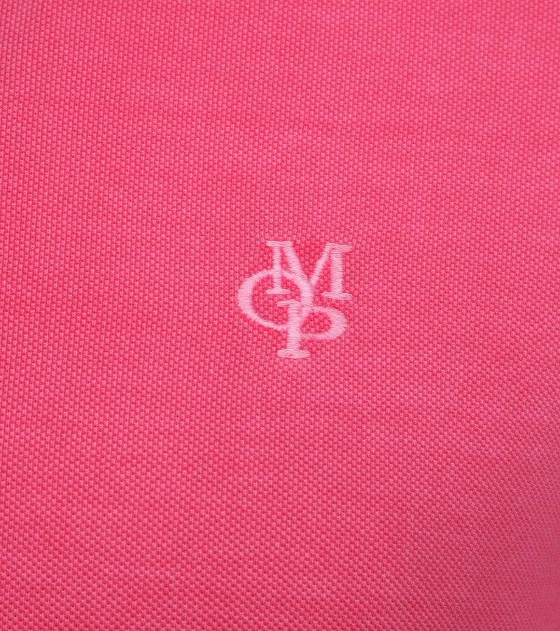 Marc O'Polo Poloshirt Garment Dyed Ibis Pink photo 2
