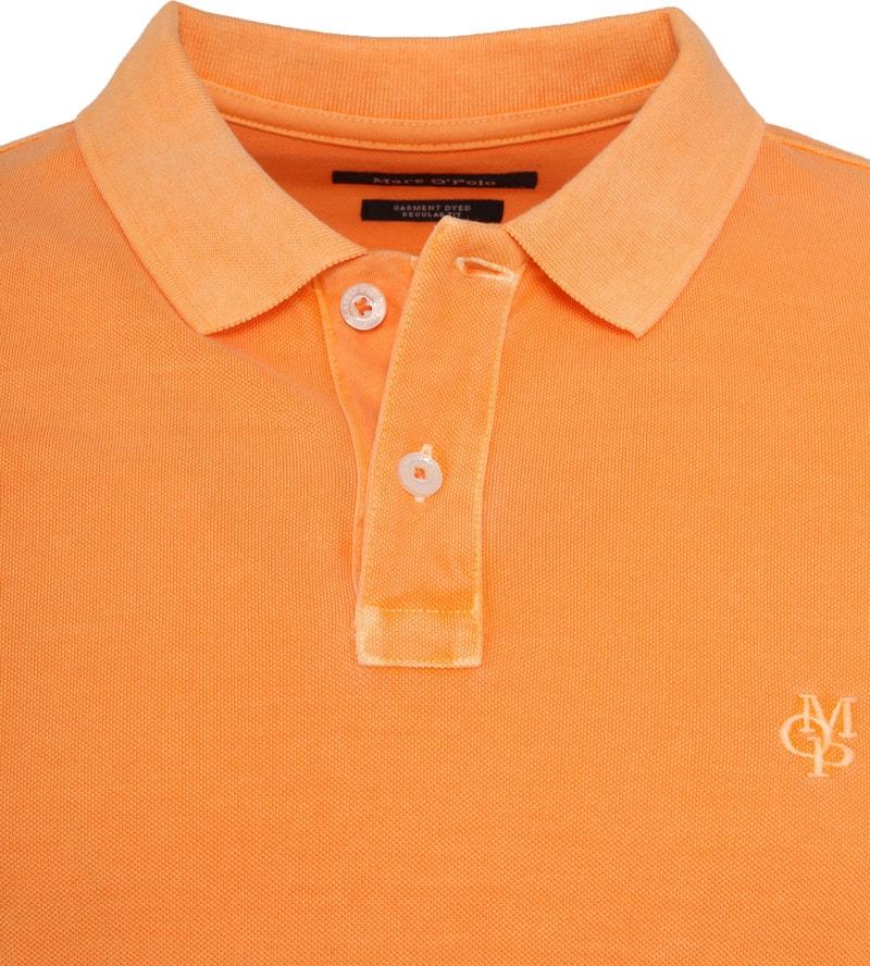 Marc O'Polo Poloshirt Garment Dyed Papaya Orange photo 1