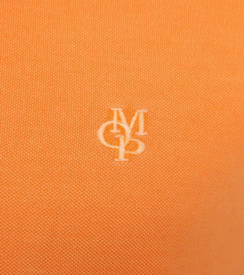 Marc O'Polo Poloshirt Garment Dyed Papaya Orange photo 2