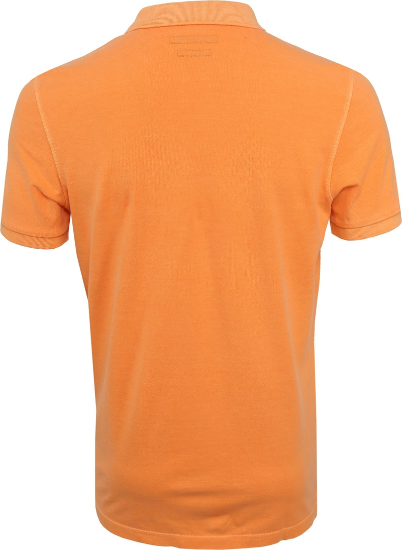 Marc O'Polo Poloshirt Garment Dyed Papaya Orange photo 3