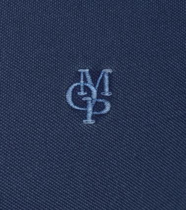 Detail Marc O\'Polo Poloshirt Uni Navy