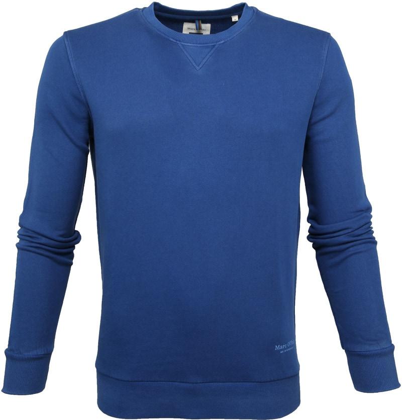 SALE logo crew sweat Marc O/'Polo Logo Sweatshirt in Navy Blue jumper