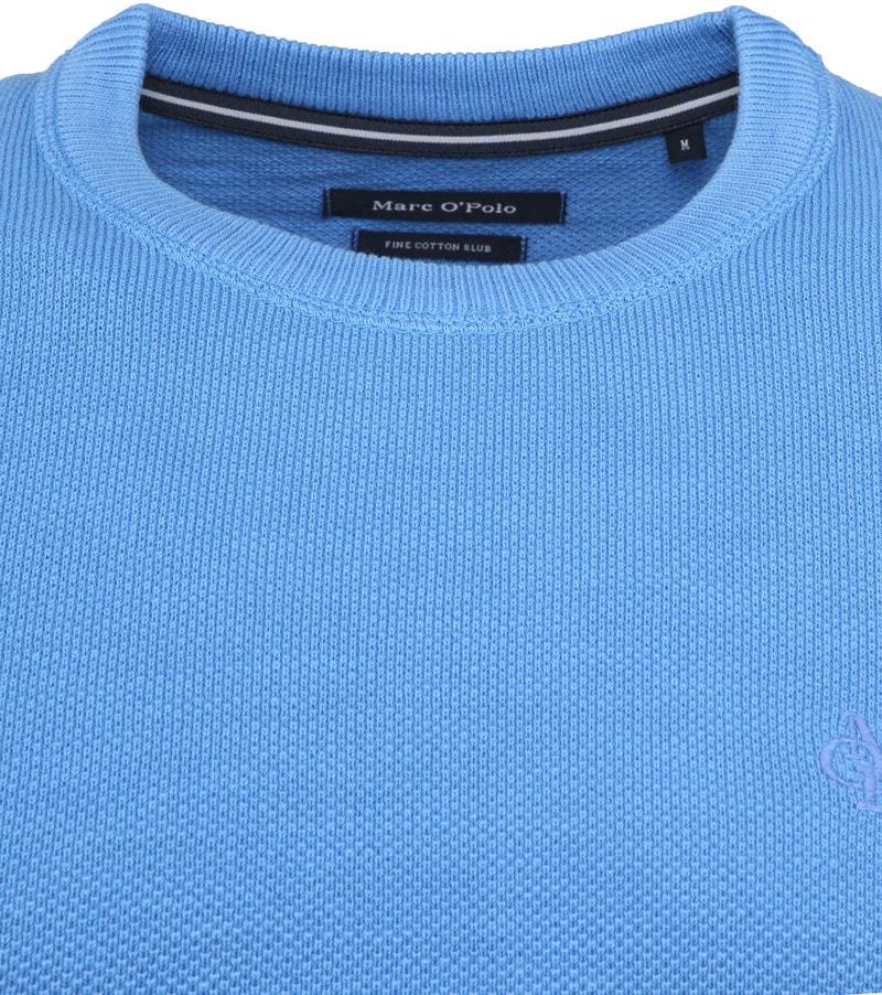 Marc O'Polo Pullover Dessin Blue photo 1