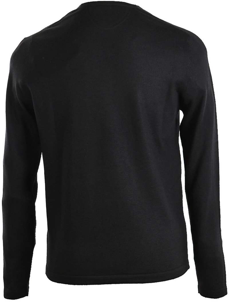 Detail Marc O\'Polo Pullover Zwart
