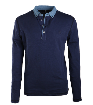 Marc O'Polo Rugby Polo Donkerblauw  online bestellen | Suitable