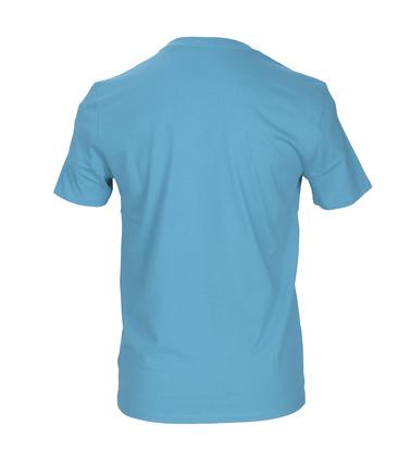 Detail Marc O\'Polo T-shirt Blauw