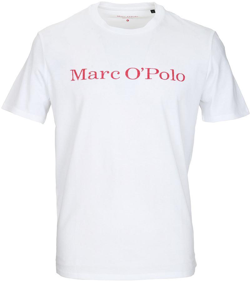 Marc O'Polo T-shirt Wit  online bestellen | Suitable