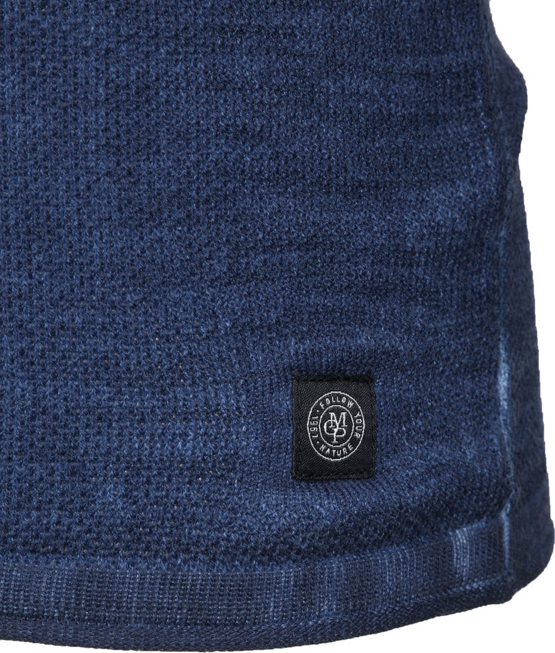 Marc O'Polo Trui Structured Donkerblauw foto 3