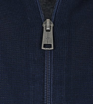 Detail Marc O\'Polo Vest rits donkerblauw