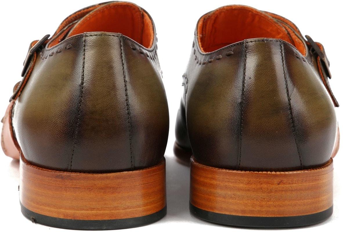 Melik Double Monk Strap Shoe Drago Green photo 3