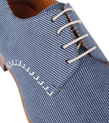 Detail Melik Schoenen Daone Blauw