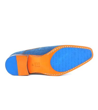 Detail Melik Schoenen Matrix Blauw