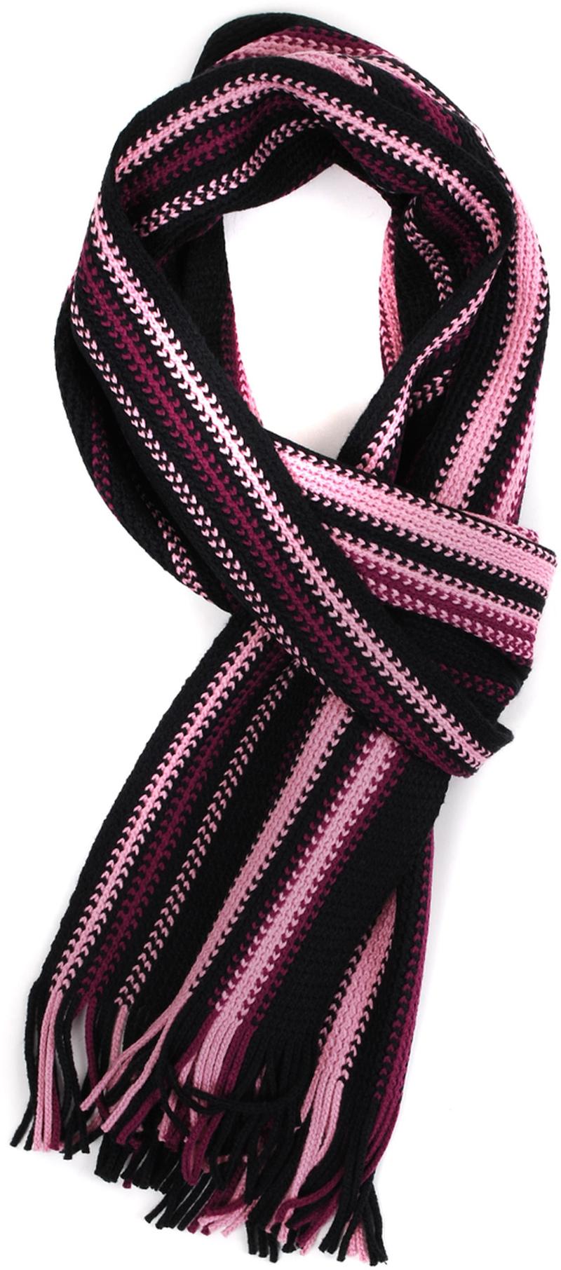 Men's Scarfs Pink Striped 14-9