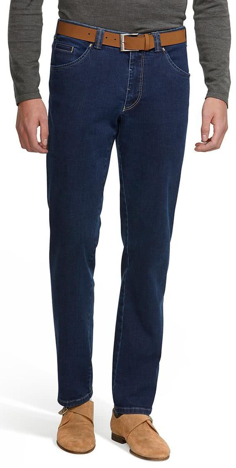 Meyer Dublin Jeans Blauw