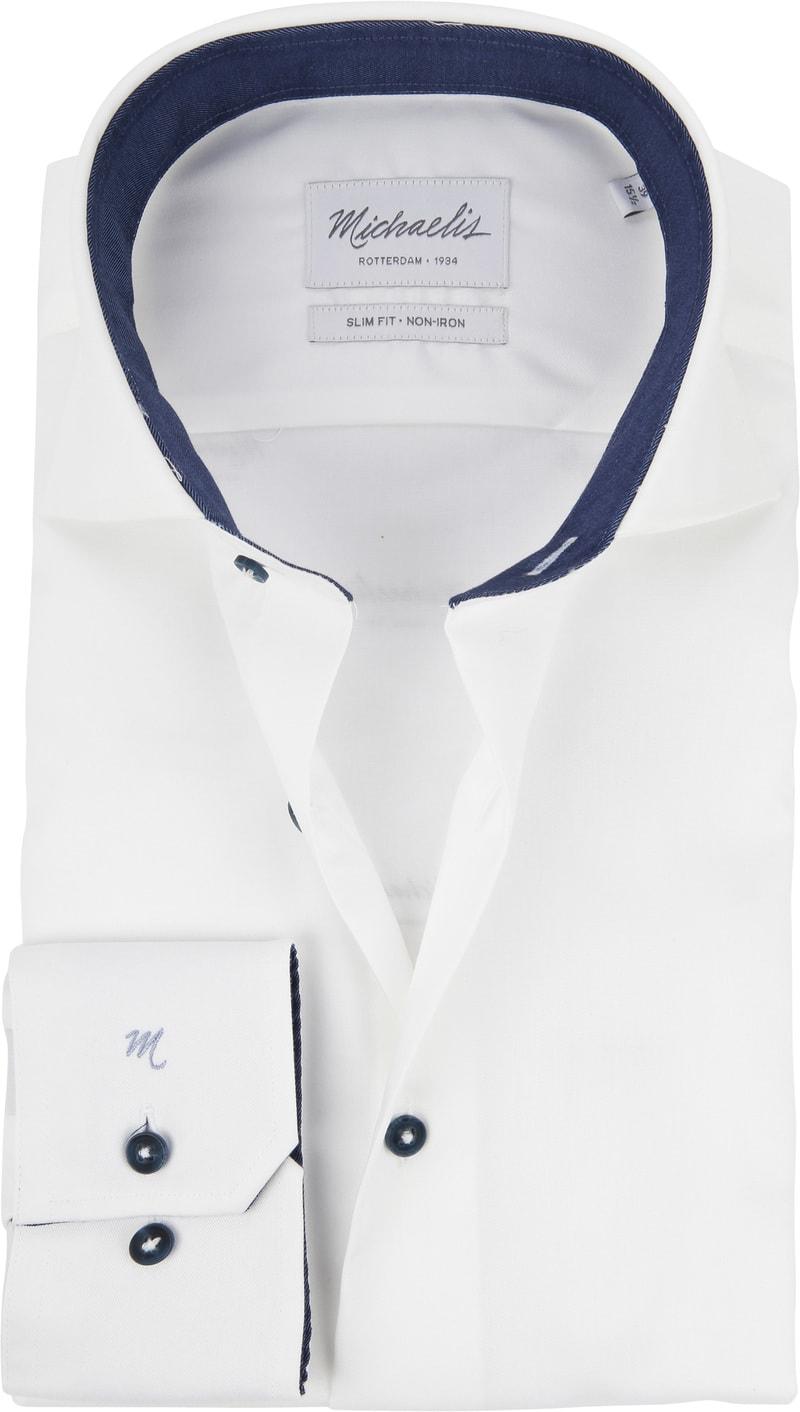 Michaelis Overhemd Non Iron Wit foto 0