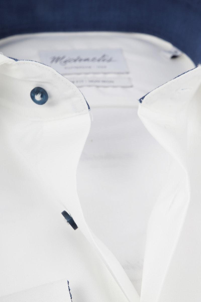 Michaelis Overhemd Non Iron Wit foto 1
