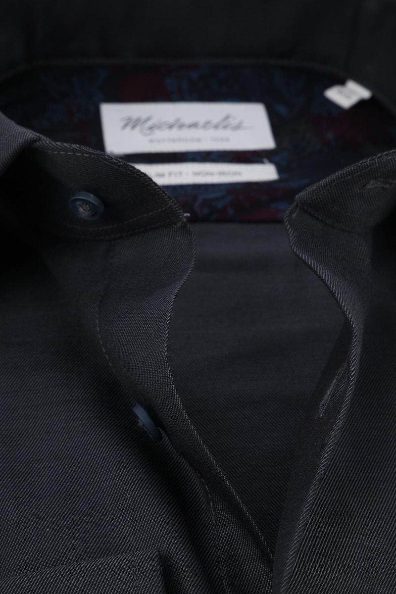 Michaelis Overhemd SF Antraciet foto 1